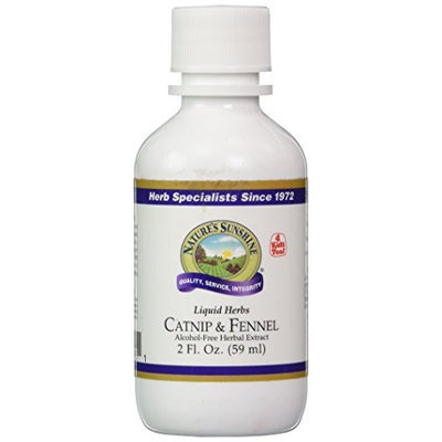 Natures Sunshine Catnip And Fennel Extract (2 FL OZ)