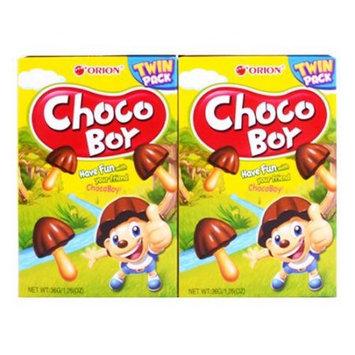 ORION Choco Boy Chocolate Cookie 36g*2