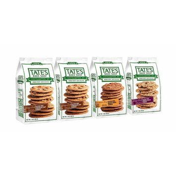 Tate's Bake Shop Thin & Crispy Cookies, Gluten Free Variety Pack, 7 Ounce, 4 Count [Gluten Free Variety Pack]