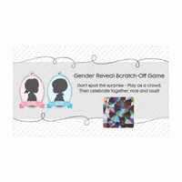 Gender Reveal Boy - Baby Shower Game Scratch Off Cards - 22 Count