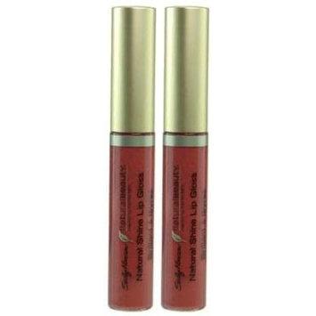 Sally Hansen Natural Beauty Natural Shine Lip Gloss #1036-20 MOONLIT MAUVE (Qty. of 2 tubes)