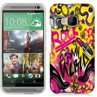 Mundaze Rock And Makeup Phone Case Cover for HTC One M9