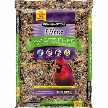 Pennington Bird Feed and Seed Nuts & Fruit Blend Waste Free, 2.5 LB