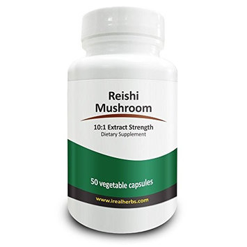 Real Herbs Reishi Mushroom - Immune System Support, Liver Tonic Alleviates Common Allergies - 20: