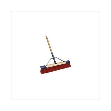CEQUENT CONSUMER PRODUCTS 559024A Heavy Duty Debris Push Broom, 24