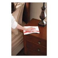 HYGEN Sanitizer Safe Microfiber Cloth, 16 x 19, White/Red, 288/Carton, Sold as 1 Carton, 12 Package per Carton