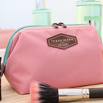 Comestic Bag, Sandistore Beauty Travel Cosmetic Bag Girl Fashion Multifunction Makeup Pouch (Pink)