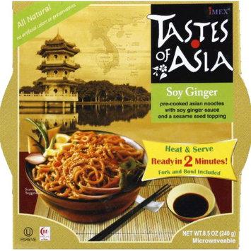 Taste Of Asia Asian Noodles Soy Ginger 8.5 Oz Pack Of 6