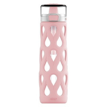 Ello Gemma Portable Glass Water Bottle 22oz - Pink