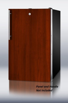 Summit CM421BLBIIFADA 4.1 Cu. Ft. Custom Panel Undercounter Compact Refrigerator