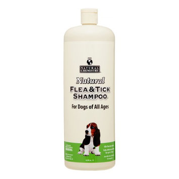 Natural Chemistry Natural Flea and Tick Shampoo for Dogs 33oz