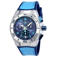 TECHNOMARINE UNISEX 40mm SILICONE BAND STEEL CASE SWISS QUARTZ WATCH 115014