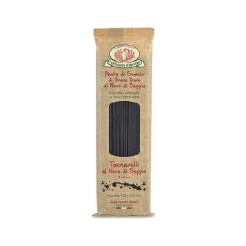 Rustichella d'Abruzzo Durum Wheat Squid Ink Tonnarelli (Spaghetti) Pasta - 17.6 oz