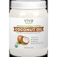 Viva Labs Organic Extra Virgin Coconut Oil, 54 Fl Oz