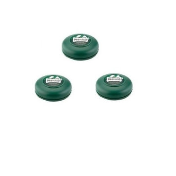 Proraso Shave Cream 75ml Tub - Menthol and Eucalyptus - New Formula - 6 PACK + LA Cross Tweezers 71817