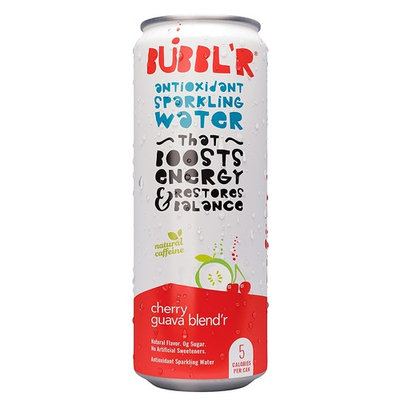 Bubbl'r Antioxidant Sparkling Water Cherry Guava Blend'r - 12 pack