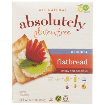 Absolutely Gluten Free Flatbread, Original, 5.29-Ounce [Original]