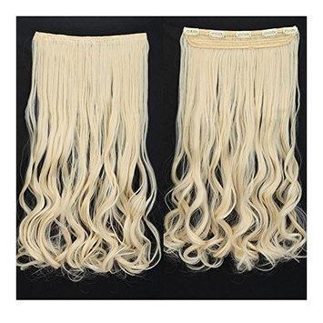 Fashion Long Curly Platinum Blonde 24