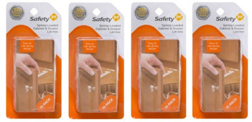 Safety 1st Spring-Loaded Cabinet and Drawer Latch - 40 Pack