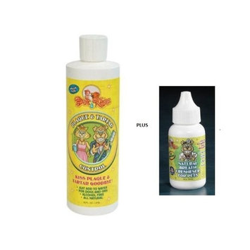 Pet Kiss Plaque and Tartar Water Additive Oral Care for Pets