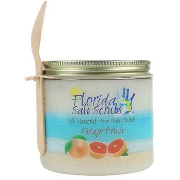 Florida Salt Scrub Fl Salt Scrub Salt Scrub Personal Care 12.1oz Grapefruit