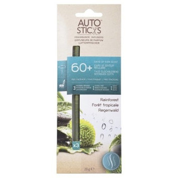 Auto Sticks Rainforest 3pk