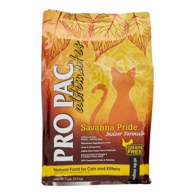 Horseloverz Pro Pac Ultimates Savanna Pride Indoor Cat Food 5 Lb