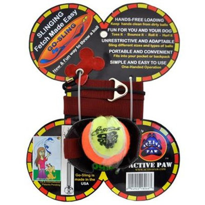 Active Paw Go-Sling Dog Toy [Options : Active Paw Go-Sling Dog Toy]