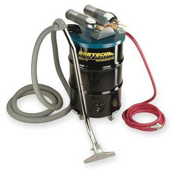 NORTECH N552BCNED Dual Venturi Vacuum, 25 HP, 55 gal, 163 cfm