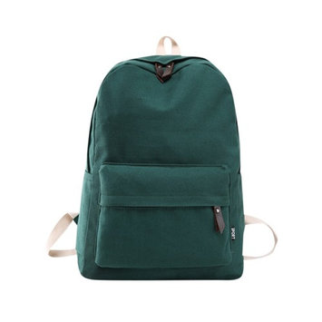 Mosunx® Women Girls Canvas Preppy Shoulder Bookbags School Travel Backpack Bag