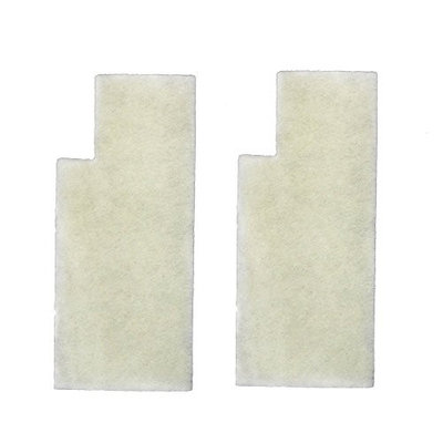 HQRP Secondary Filters for Hoover Anniversary Self-Propelled U6485900 U6485900B UH50000 UH50005B Bagged Upright Vacuums + HQRP Coaster (Pack of 4)