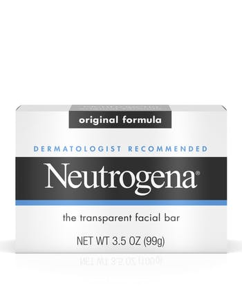 Neutrogena® Dermatologist-Recommended Original Face Soap Bar with Glycerin