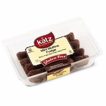 Katz Gluten Free Brownie Fudge Mini Muffins   Dairy, Nut, Soy and Gluten Free   Kosher (1 Pack, 6 Ounce)