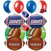 New York Giants Football Anagram Balloons Decorating Ultimate Pack 32pc Kit