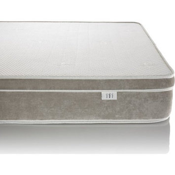 Brentwood Home Bamboo Naturals Plush Eurotop Innerspring Mattress