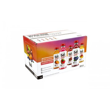 Bai Brands Llc Bai Water Sunset Variety Pack, 18 fl oz, 15 Count