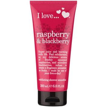 I Love... I Love. Raspberry & Blackberry Exfoliating Shower Smoothie Cream