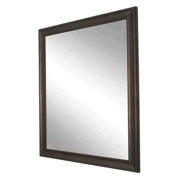BrandtWorks American Accent Wall Mirror - Clouded Bronze