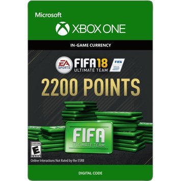 Incomm Xbox One FIFA 18 Ultimate Team 2200 Points (email delivery)