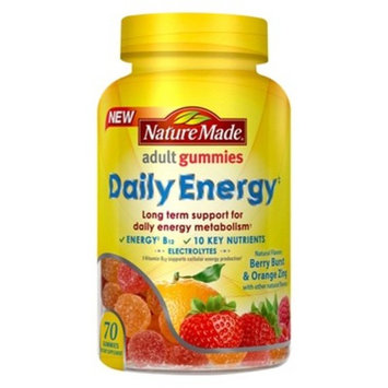 Nature Made Daily Energy Support Mineral Supplement Gummies - 70ct