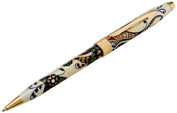 Cross Botannical Golden Magnolia ballpoint pen