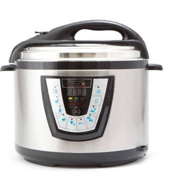 Harvest Trading Group Harvest Cookware Pressure Pro 10-Quart Pressure Cooker, Black