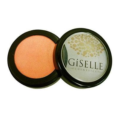 GISELLE COSMETICS PRESSED POWDER BLUSH (#46 GEORGIA PEACH) Soft-Pressed Powder Blusher   Ready Pressed Powder Blush   Mineral Makeup   Pure Pressed Powder Blush