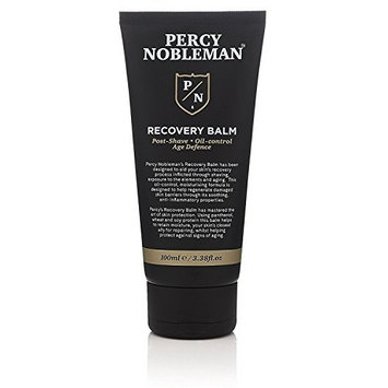 Recovery Balm by Percy Nobleman. Aftershave Balm. Post Shave. Oil Control Moisturiser for Men 100ml/3.38fl.oz