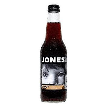 Jones Soda 12-Pack of Root Beer Jones Pure Cane Soda