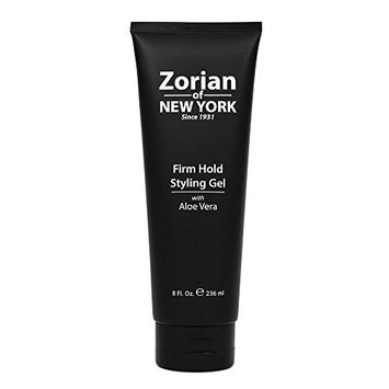 Zorian of New York Firm Hold Styling Gel, 8 Ounce