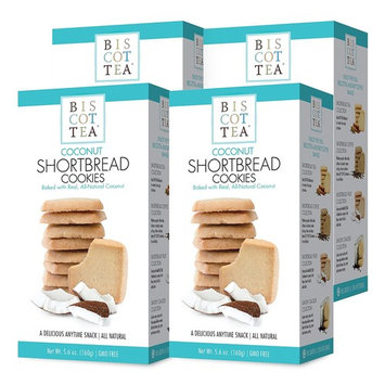 BISCOTTEA Coconut Shortbread Cookie