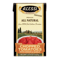 Alessi TOMATOES, CHOPPED, ONION, BX, (Pack of 12)