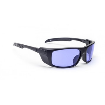 Polycarbonate Sodium Flare Glass Working Spectacles in Black Safety Wrap - 58-15-140