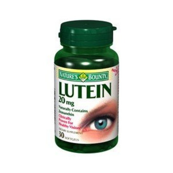 NATURES BOUNTY LUTEIN 20MG 4902 30SG